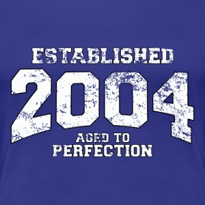 established 2004 - aged to perfection (sv) T-shirts - Premium-T-shirt dam
