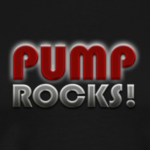 PUMP ROCKS! T-Shirts - Men's Premium T-Shirt