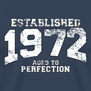 Geburtstag - established 1972 - aged to perfection - Männer Premium T-Shirt