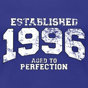 established 1996 - aged to perfection (uk) T-Shirts - Women's Premium T-Shirt