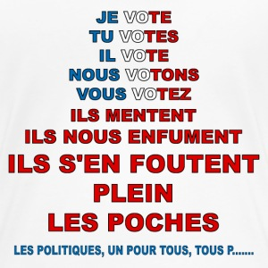 message élections france Tee shirts - T-shirt Premium Femme