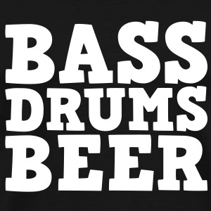 Bass Drums and Beer Camisetas - Camiseta premium hombre
