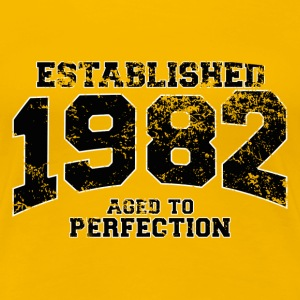 established 1982 - aged to perfection(fr) Tee shirts - T-shirt Premium Femme