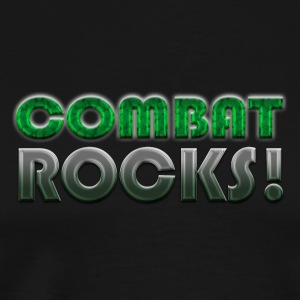 COMBAT ROCKS! T-Shirts - Men's Premium T-Shirt