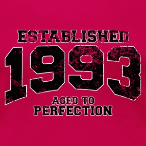 established 1993 - aged to perfection(fr) Tee shirts - T-shirt Premium Femme