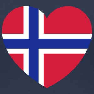 Norway Heart T-Shirts - Frauen Premium T-Shirt
