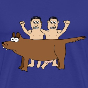 Romulus and Remus T-Shirts - Men's Premium T-Shirt