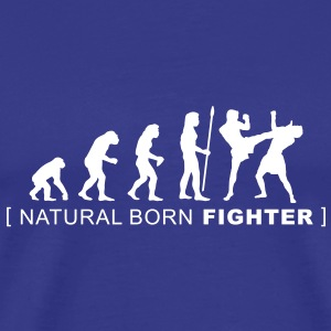 evolution_martialarts T-shirts - Herre premium T-shirt