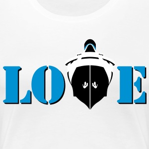 Love Boat - Frauen Premium T-Shirt