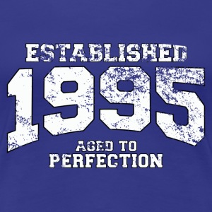 Geburtstag - established 1995 - aged to perfection - Frauen Premium T-Shirt