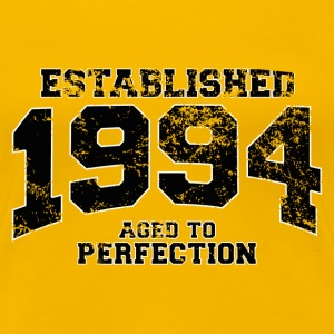 established 1994 - aged to perfection(uk) T-Shirts - Women's Premium T-Shirt