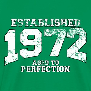 established 1972 - aged to perfection (fr) Tee shirts - T-shirt Premium Homme