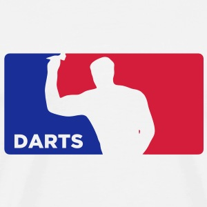 Darts USA Style Logo T-Shirts - Men's Premium T-Shirt