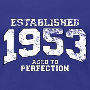established 1953 - aged to perfection (uk) T-Shirts - Women's Premium T-Shirt