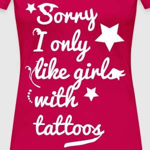 tattoo girls T-skjorter - Premium T-skjorte for kvinner
