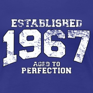 established 1967 - aged to perfection (uk) T-Shirts - Women's Premium T-Shirt