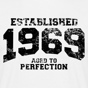 Geburtstag - established 1969 - aged to perfection - Männer T-Shirt