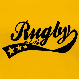 rugby is life - retro T-shirt - Maglietta Premium da donna