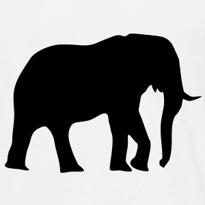 elefant, elefanter - Herre-T-shirt