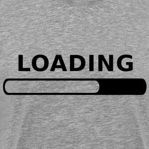 Loading in Progress T-Shirts - Men's Premium T-Shirt