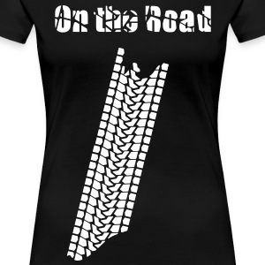 On the road - Frauen Premium T-Shirt