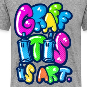 Graffitis art - Männer Premium T-Shirt