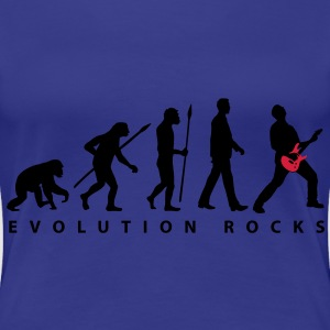 evolution_rocks_032012_c_2c T-Shirts - Frauen Premium T-Shirt