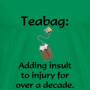 Teabag T-Shirts - Men's Premium T-Shirt