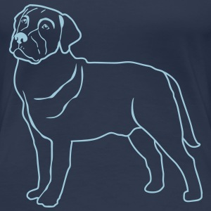 Dogs T-shirt - Frauen Premium T-Shirt