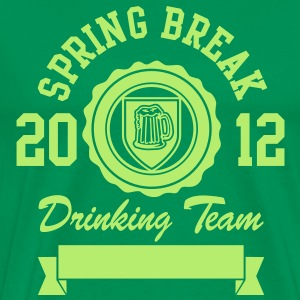 Spring Break Drinking Team 2012 T-Shirts - Männer Premium T-Shirt