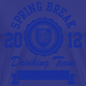 Spring Break Drinking Team 2012 T-Shirts - Men's Premium T-Shirt