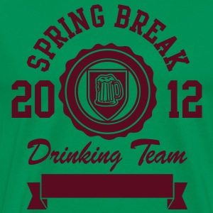 Spring Break Drinking Team 2012 T-shirts - Mannen Premium T-shirt