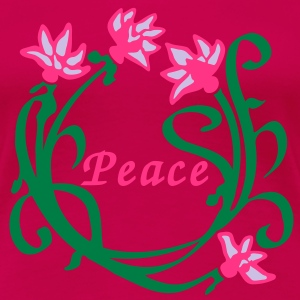 Lotus Flower Peace T-Shirts - Frauen Premium T-Shirt