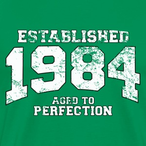 Geburtstag - established 1984 - aged to perfection - Männer Premium T-Shirt
