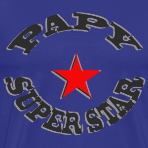 PAPY SUPER STAR - T-shirt Premium Homme