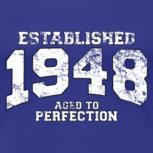 established 1948 - aged to perfection (uk) T-Shirts - Women's Premium T-Shirt