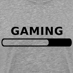 Gaming in Progress T-Shirts - Männer Premium T-Shirt