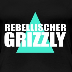 Rebellischer Grizzly T-Shirts - Frauen Premium T-Shirt