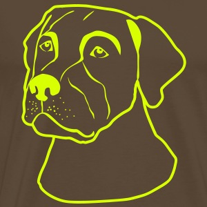 Dogs T-shirt - Men's Premium T-Shirt