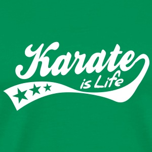 karate is life - retro Tee shirts - T-shirt Premium Homme
