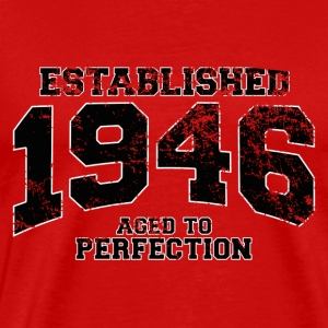 established 1946 - aged to perfection (fr) Tee shirts - T-shirt Premium Homme