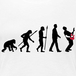evolution_rocks_032012_j_2c T-Shirts - Frauen Premium T-Shirt