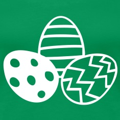 Easter - Easter Eggs Tee shirts