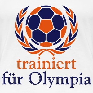 Handball   T-Shirt - Frauen Premium T-Shirt