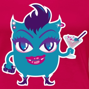Monster Martini T-Shirts - Frauen Premium T-Shirt
