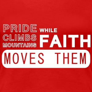 faith T-Shirts - Women's Premium T-Shirt