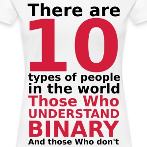 There are 10 types of people T-Shirts - Women's Premium T-Shirt
