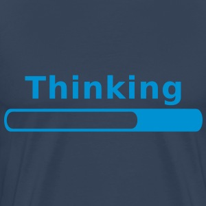 Thinking in Progress T-Shirts - Men's Premium T-Shirt