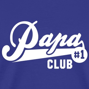 Papa No1 CLUB T-Shirt WB - Premium T-skjorte for menn