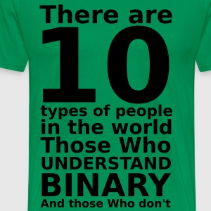 There are 10 types of people T-Shirts - Männer Premium T-Shirt